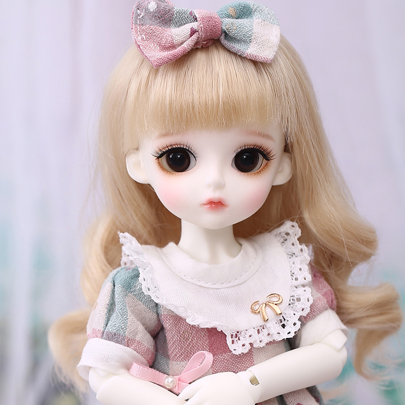Free Face Make UP+Free Eyes 1//6 Bjd Doll SD Doll Girl Rita