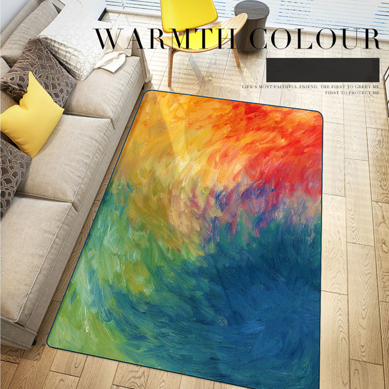 120X170cm Carpet European Trend Carpet Large Floor Mats and Carpets Modern Anti-skid Carpets For Living Room Bedroom Alfombras