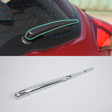 ABS auto accessories rear wiper Cover Trim 3pcs Car Styling For Nissan 17 KICKS for nissan sylphy 2016 2019 smart auto driving assistant system car automatic rain wiper sensors