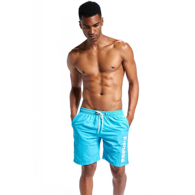 رجل سراويل السباحة جذوع الشاطئ مجلس السراويل السباحة قصيرة السراويل المايوه رجل تشغيل الرياضية Surffing السراويل Y50