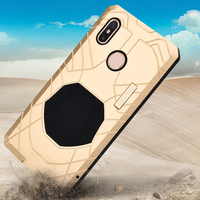 Daily Life Waterproof Case For Xiaomi Mi Max 3 Luxury Shockproof Aluminum Metal + Silicone Protection Cover Xiaomi Mi Max3 Case