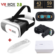 VR BOÎTE 2 Google Carton Réalité Virtuelle Lunettes 3D du rift oykn vr casque Pour HTC VR pour Samsung VR BOBO sanal gerceklik