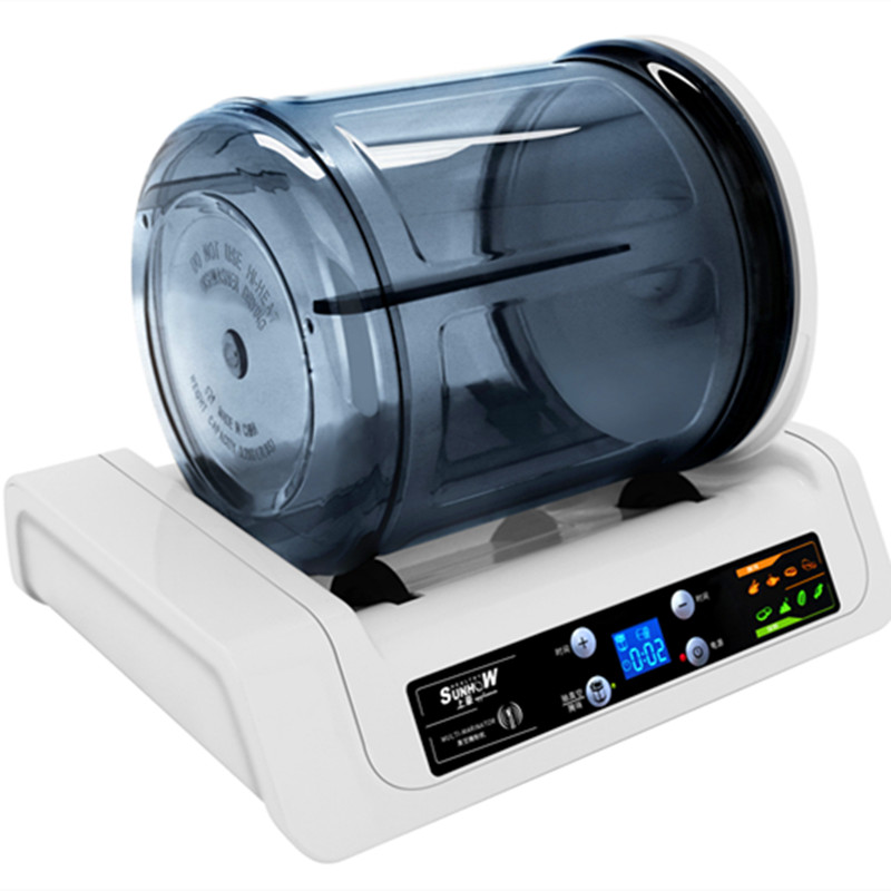 220V Electric Vacuum Food Marinator Tumbling Machine Household Vacuum Pickling Machine Chicken Burger Marinated Bacon 7l electric vacuum food pickling machine household 2018 vacuum food marinated machine commercial meat fried chicken marinator
