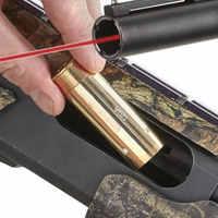 Lambul Rot Laser 12 Gauge 20 MESSGERÄT Cartridge Bohrung Sighter 12GA Laser Schussprüfer Anblick Boresight Scope Jagd 5,45 × 39 7,62 × 54