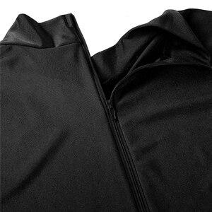 Image 5 - IIXPIN Мужская одежда для балета, облегающий гимнастический костюм, цельный облегающий боди с ложным воротником и длинными рукавами, облегающий Купальник для балета