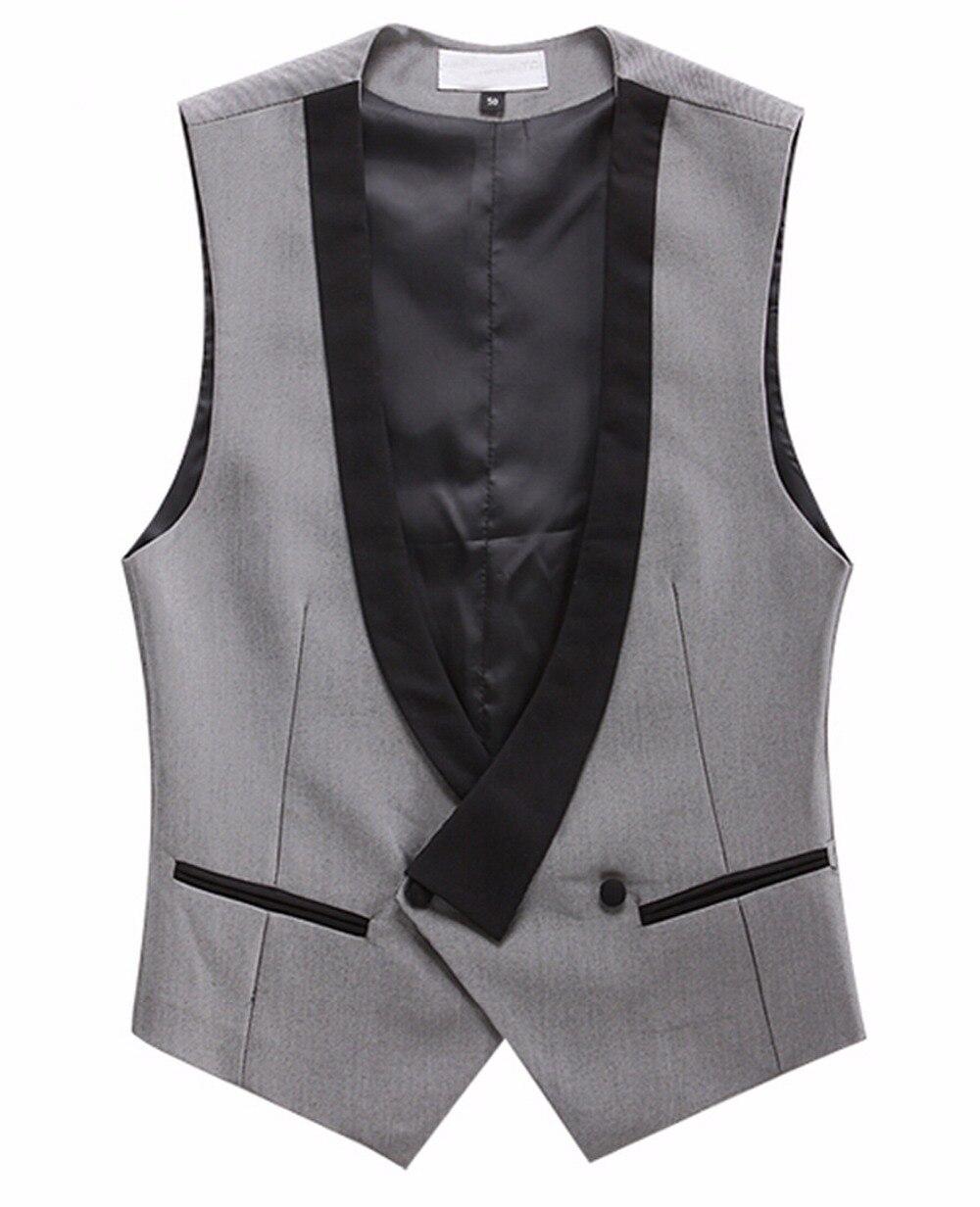 font b Custom b font font b Made b font Gray And Black Vests For
