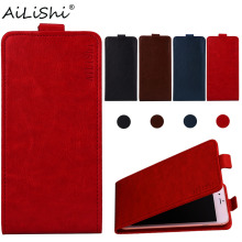 AiLiShi Case For Prestigio Muze B3 X5 LTE D3 K5 Wize Q3 G3 NK3 Grace Q5 M5 PU Flip Leather Phone Cover Skin+Tracking