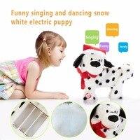 Electronic Pets Music Robot Dog Kids Sing Dancing Dog Plush Plastic Interactive Cute Musical Pet Doll