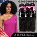 Mongolian Kinky Curly Hair Weave Bundles,7A Unprocessed Virgin Human Hair Weave,100% Curly Weave Bundles,Afro Kinky Curly Hair