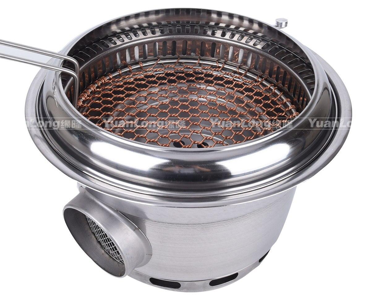 churrasco menor fumaça forno de carbono comercial