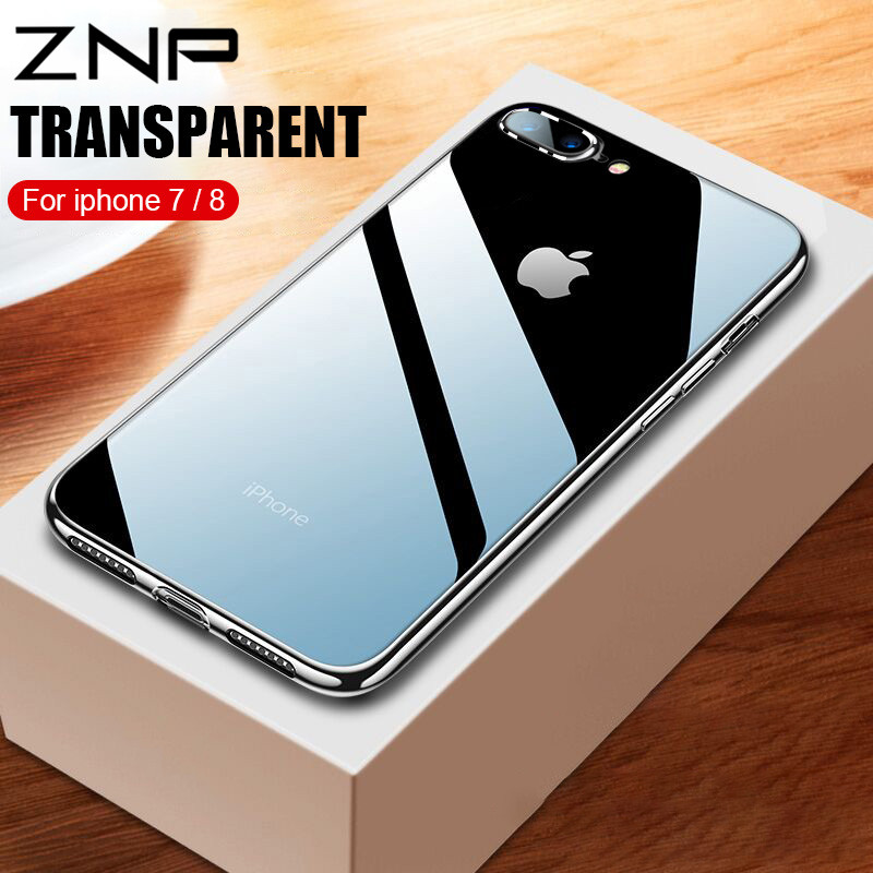 Clear Silicone Cover Iphone 7 Plus
