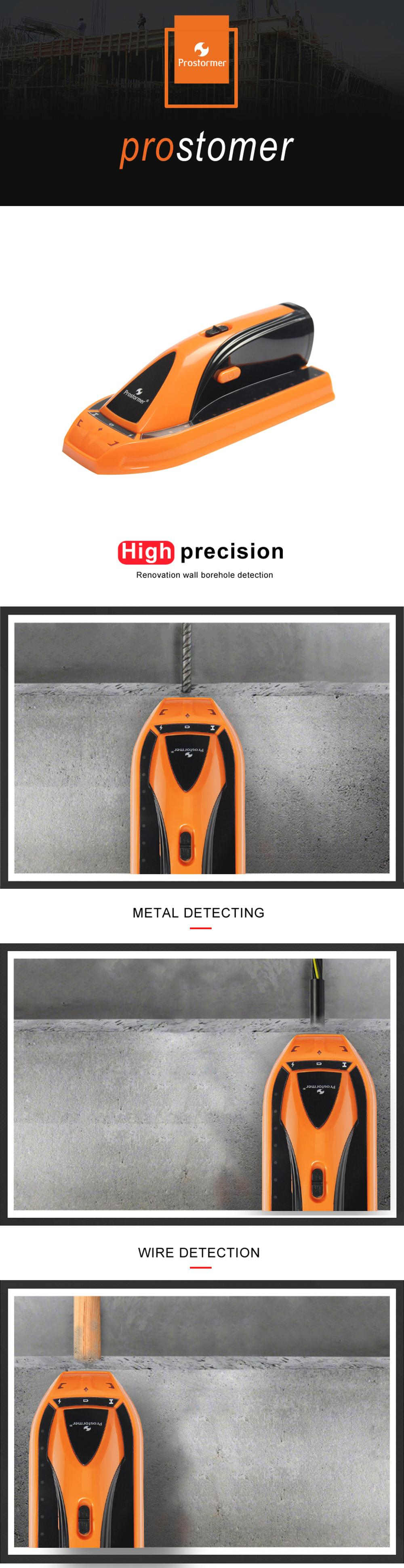 PROSTORMER Metal Detector for wires,metal and wood