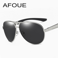 AFOUE Retro Round Pilot Sunglasses Men Polarized Over Sized Sun Glasses Women Big Frame Driving Goggles