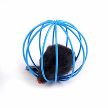 2017 Lovely Pet Cat Toy Mouse Ball Lovely Kitten Gift Funny Play Toys Mouse Ball Best Gift for Pet Cat Free shipping