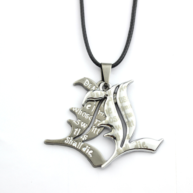Death Note Double l Yagami Non-Mainstream Pendant & Necklace Smart Anime