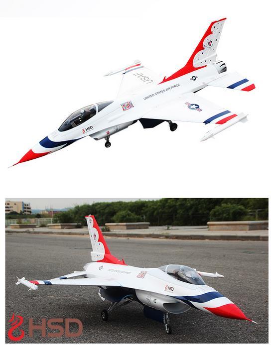 F16 Fighter 105mm Ptarmigan RC EDF JET Airplane EDF RC Fixed Wing Wingspan 1245mm EPO Airplane PNP/ARF/KIT