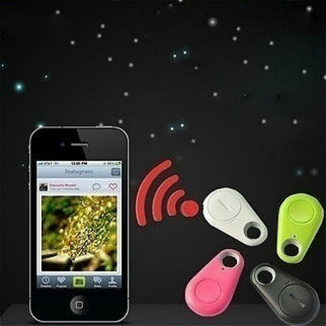 Anti-Lost Theft Device Alarm Bluetooth Remote GPS Tracker Child Pet Bag Wallet Key Finder Phone Box  10.8