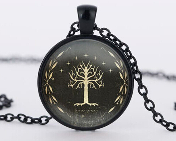 Lord of The Rings- Gondor White Tree Pendant