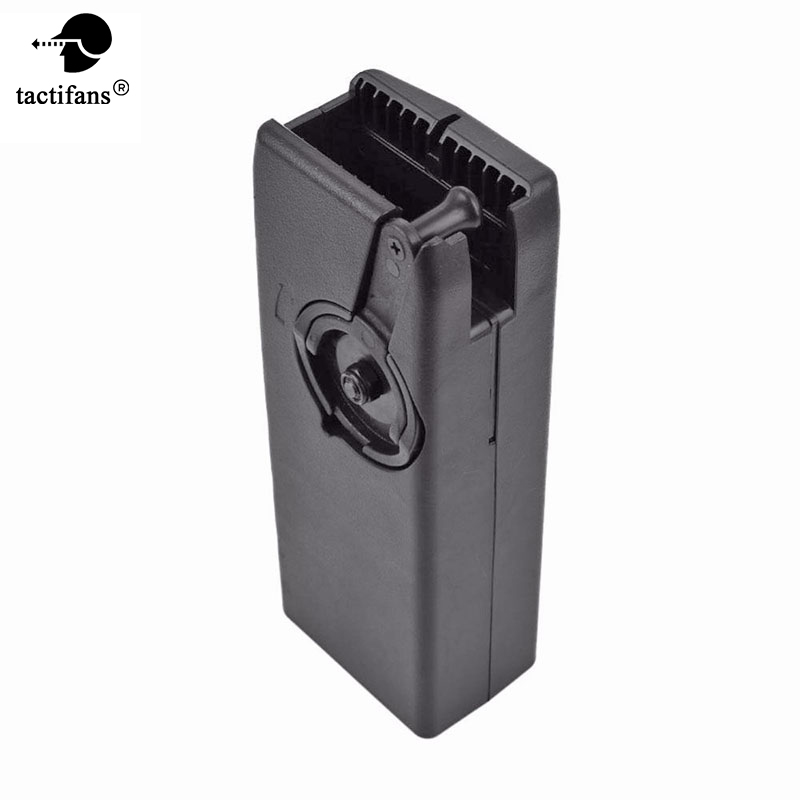 Tactifans Airsoft Paintball 1000rd Rounds Plastic BB Speed Loader M4 Hand Crank Military Fast BB Loader For AEG/EBB Magazine