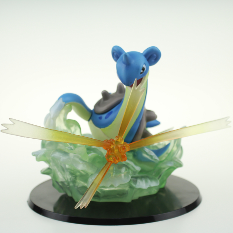 Free Shipping 6 Monster Anime Lapras GK Ver Boxed 15cm PVC Action Figure Collection Model Doll