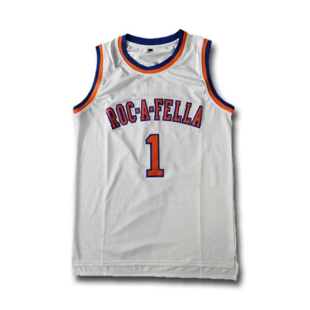 f3f5e8b39e0 TIM VAN STEENBERGE S.carter 1 Roc-a-fella Basketball Jersey Sewn Stitched