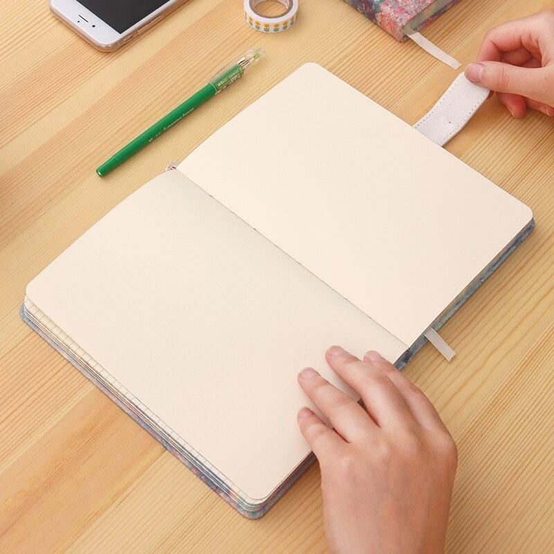 Lenwa Monet series Notebook color lado hebilla magnética portátil ...