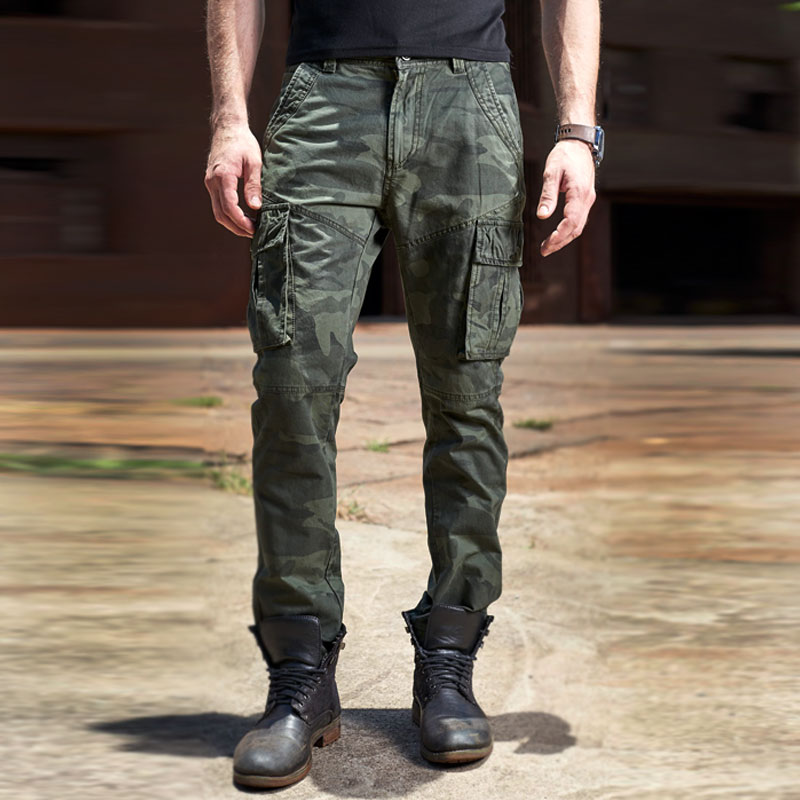 2018 New Cotton Waterproof camouflage tactical pants War Game Cargo pants mens Pants trousers Army military Active Pants