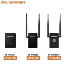 COMFAST Wifi Del Repetidor 2.4G/5.8G de Doble Banda extensor 750 Mbps antena 802.11AC Router wifi Amplificador VS 150 M y 300 Mbps Wi-fi Roteador