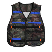 54*47cm colete tatico Outdoor Tactical Adjustable Vest Kit For Nerf N-strike Elite Games Hunting vest Promotion