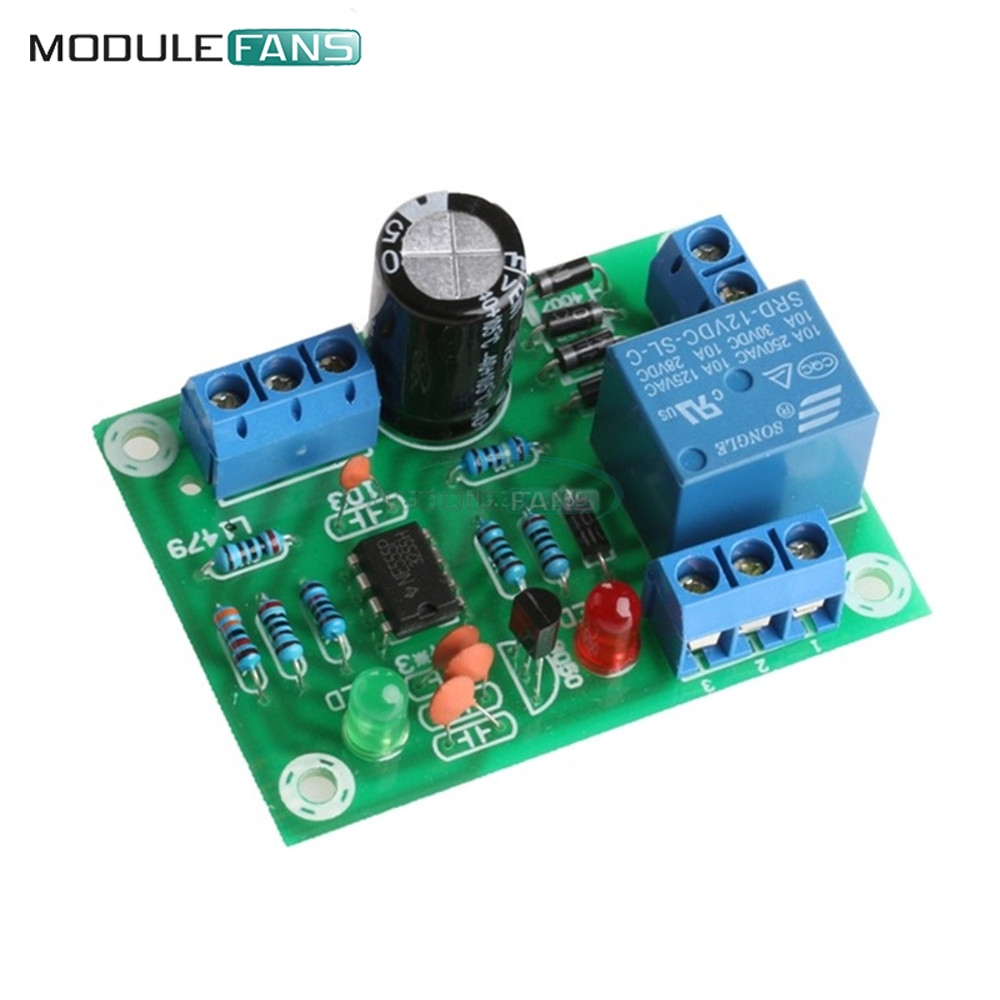 30a Dc 12v Liquid Level Controller Water Detection Sensor Electronic Control Relay Module Board 9v Ac High Current