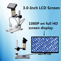 ANDONSTAR CE RoHS FCC 1080P HDMI HD Microscope Magnifier 3 0 Inch For PCB Repair LCD