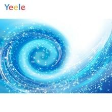 Yeele Blue Vortex Stars Light Bokeh Backdrops Children Photocall Photography Background Photographic Backdrop For Photo Studio