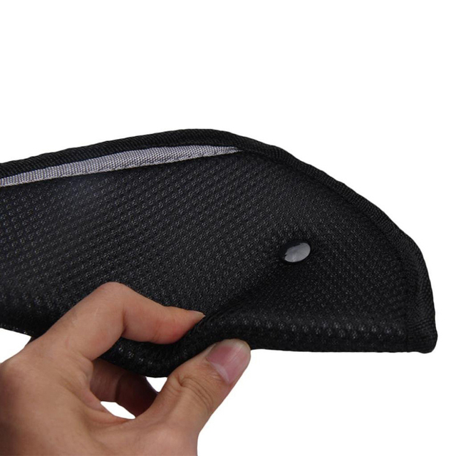 Ajuste de cinturón de seguridad del coche ajustar dispositivo bebé niño Protector accesorios de coche Adjustive Protector chico coche de seguridad de la correa cosas del coche