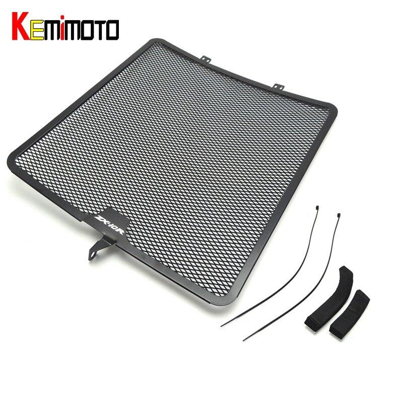 KEMiMOTO ZX 10R Radiator Guard Cover Grille Protector for KAWASAKI Ninjia ZX-10R 2008 2009 2010 2011 2012 2013 2014 ZX10R