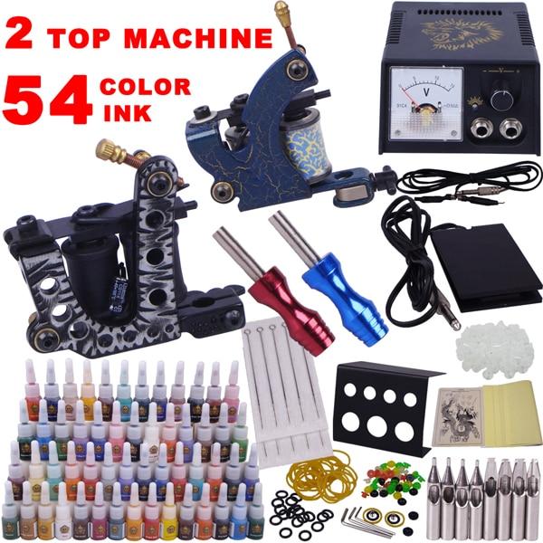 tattoo supplies cheap permanent makeup machine kit tattoo ...