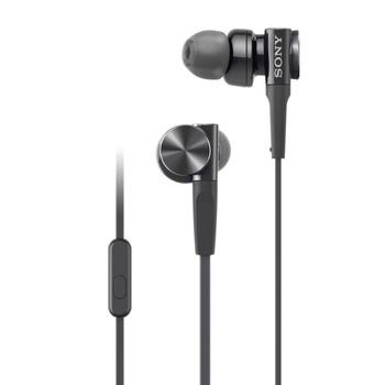 SONY Sealed Type In-Ear earphone MDR-XB75AP with mic  free shipping earbuds
