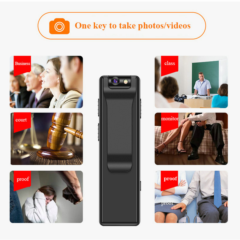 Image 2 - Magnetic Pen Mini Camera HD 1080P Camcorder Video Audio Recorder 