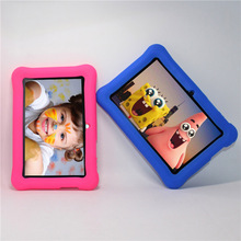 With silcon case Glavey 7 Inch Android tablet pc Q88 allwinner A33 quad Core 1.5GHz Android 4.4 Bluetooth WIFI 4GB Dual camera