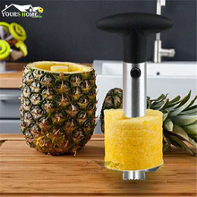 купить Advanced Stainless Steel Fruit Pineapple Peeler Corer Slicer Cutter Kitchen Easy Gadgets дешево