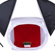 Складной софтбокс для фотостудии тент фотосъемки 50 х50 см светильник