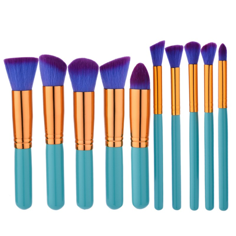 Professional Soft Cosmetic Make up Brush Set Woman's Toiletry Kit beauty makeup brushes blush brush kesmall 10pcs professional makeup brush set brushes soft synthetic hair wood handle make up brush kit cosmetic beauty tool co428