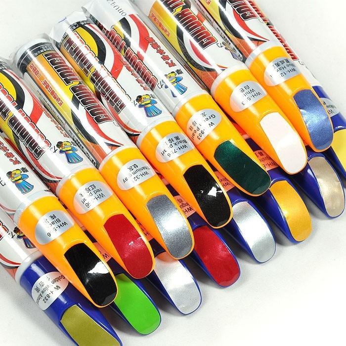New 1Pcs Universal Car Pro Mending Car Remover Scratch Repair Paint Pen Clear 61 Colors Choices