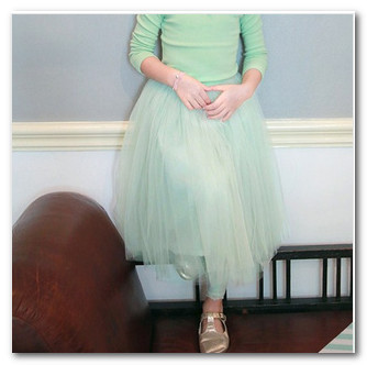 Retail new girls tulle tutu skirts Children babys kids new spring summer princess party skirts kids clothing light blue pink2765