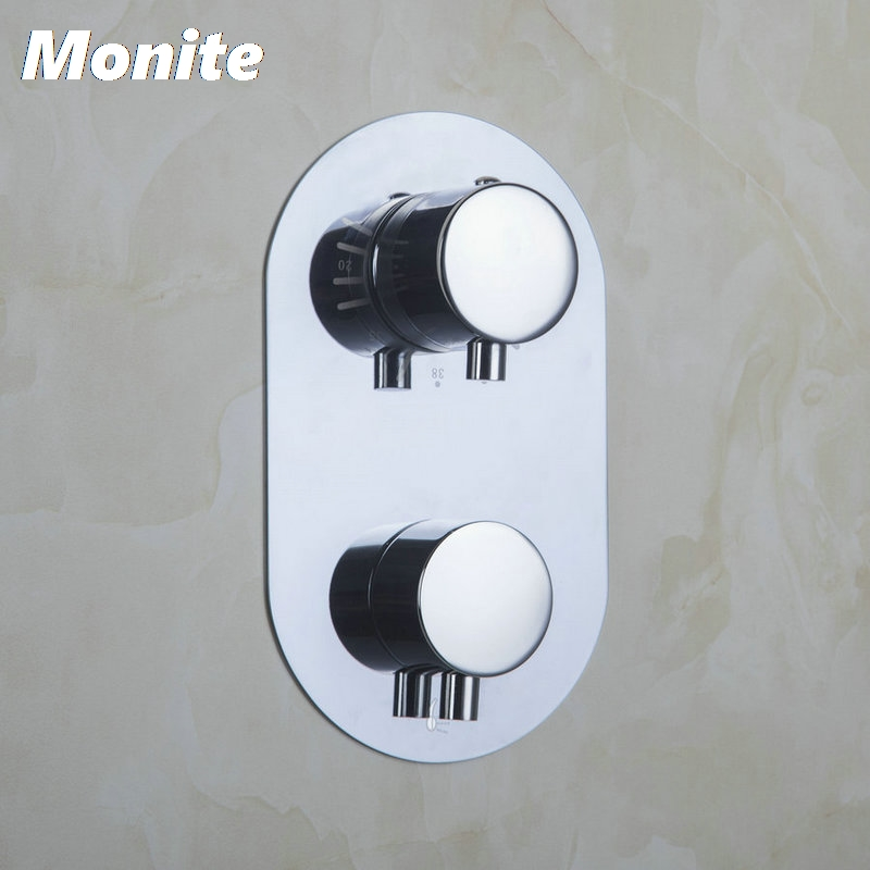 Bathroom Torneira Thermostat Control Valve Bathroom Round Mixing Valve Switch Wall Mount 5523 Bath/Shower Mixer Mixer Tap Faucet xueqin bathroom bath shower faucets water control valve wall mounted ceramic thermostatic valve mixer faucet tap