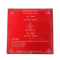 Hot Sale Red PCB Heated 3D printer Heatbed MK2B Upgraded MK2A for Mendel RepRap CNC 3D printer Support 12V 24V