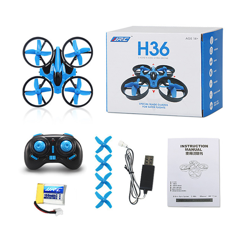 Original JJRC H36 Mini Quadcopter 4CH 6 Axis Speed Headless Mode One Button Returning Remote Control Drone Child Best Toy image