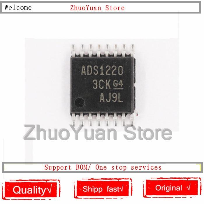 1PCS/lot ADS1220IPWR ADS1220IPW ADS1220 TSSOP-16 New Original IC Chip