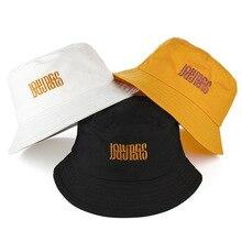 Простая мужская шляпа-Панама женская шляпа рыбака белый черный желтый