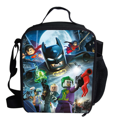 Us 15 66 17 Off Fashion Cartoon Lunch Bag For Kids Avengers Boys Box Bolsa Termica Lancheira Children Thermal Lunchbox Captin America In