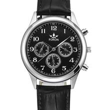 Venda quente de Luxo de Negócios de Moda de Couro Falso de Crocodilo Dos Homens Relógio Analógico Relógios Presente 1 pcs Jan 20
